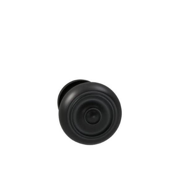 "Omnia Knob 1-3/4"" Rose Pass 2-3/8"" BS T  1-3/8"" Doors Oil Rubbed Bronze 473 473/45.PA10B"