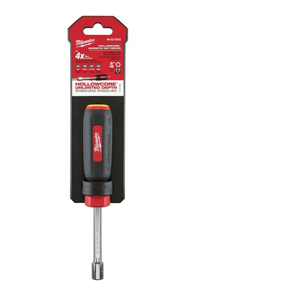 """Milwaukee 5/16"""" HollowCore Magnetic Nut Driver 48-22-2522"""