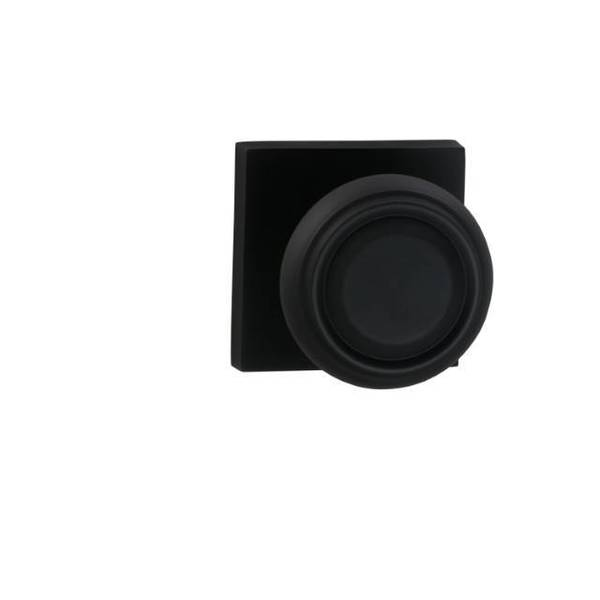 Omnia Dummy Pair 565 Knob with Square Rose Oil Rubbed Bronze 565SQ/0.PD10B