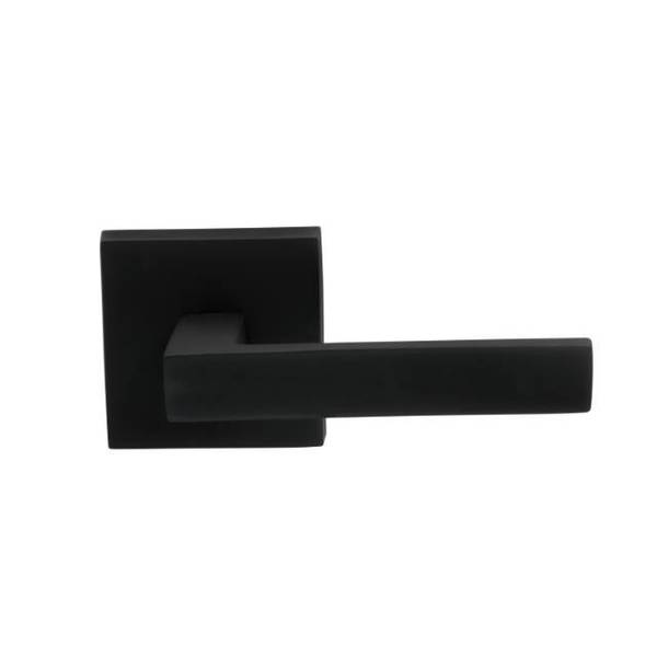 Omnia Dummy Pair Lever Oil Rubbed Bronze 930 with Square Rose 930SQ/0.PD10B