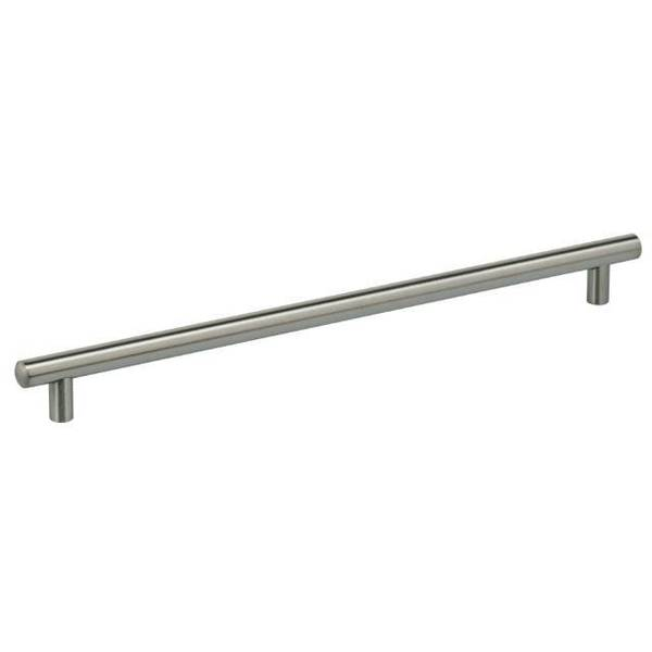 "Omnia Center to Center Thick Cabinet Bar Pull Satin Stainless Steel 12-5/8"" 9465/320.32D"