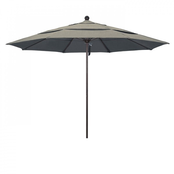 "March Patio Umbrella,  Octagon,  107"" H,  Sunbrella Fabric,  Spectrum Dove ALTO118117-48032-DWV"