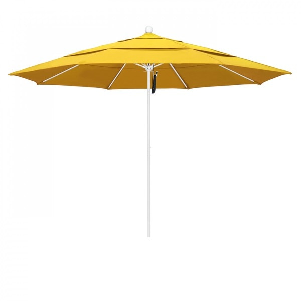 "March Patio Umbrella,  Octagon,  107"" H,  Olefin Fabric,  Lemon ALTO118170-F25-DWV"