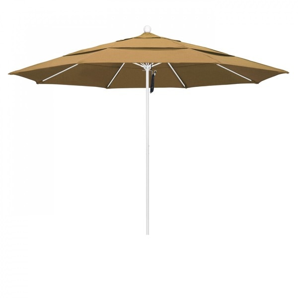 "March Patio Umbrella,  Octagon,  107"" H,  Olefin Fabric,  Straw ALTO118170-F72-DWV"