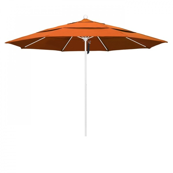"March Patio Umbrella,  Octagon,  107"" H,  Pacifica Fabric,  Tuscan ALTO118170-SA17-DWV"