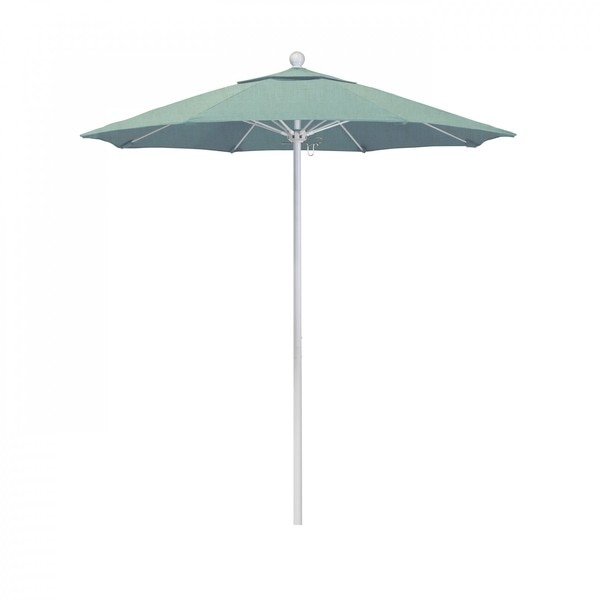 "March Patio Umbrella,  Octagon,  96"" H,  Sunbrella Fabric,  Spa ALTO758170-5413"