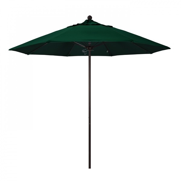 "March Patio Umbrella,  Octagon,  103"" H,  Sunbrella Fabric,  Forest Green ALTO908117-5446"