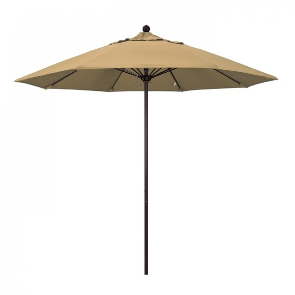 "March Patio Umbrella,  Octagon,  103"" H,  Olefin Fabric,  Champagne ALTO908117-F67"