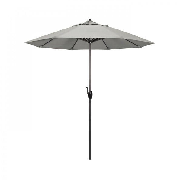 "March Patio Umbrella,  Octagon,  97.88"" H,  Sunbrella Fabric,  Granite ATA758117-5402"
