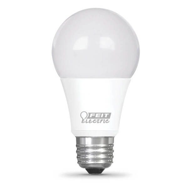 Feit Electric Light bulb, LED, Dimmable, A15, Wh, PK48 BPA1560W927CAFIL2R24