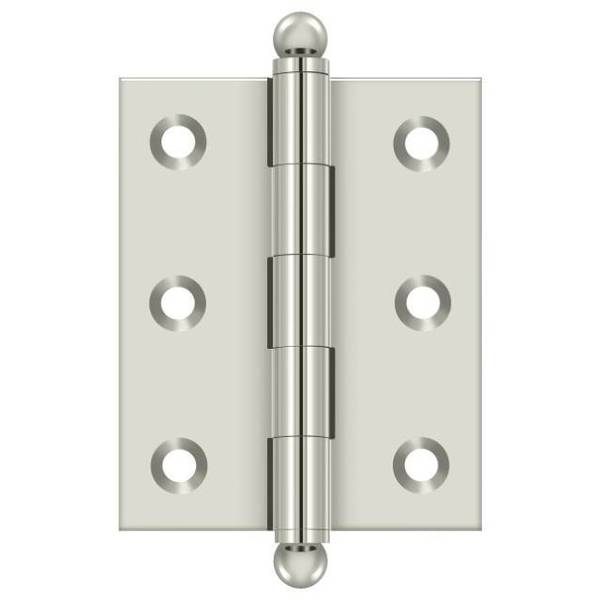 Deltana Bright Nickel Door and Butt Hinge CH2520U14