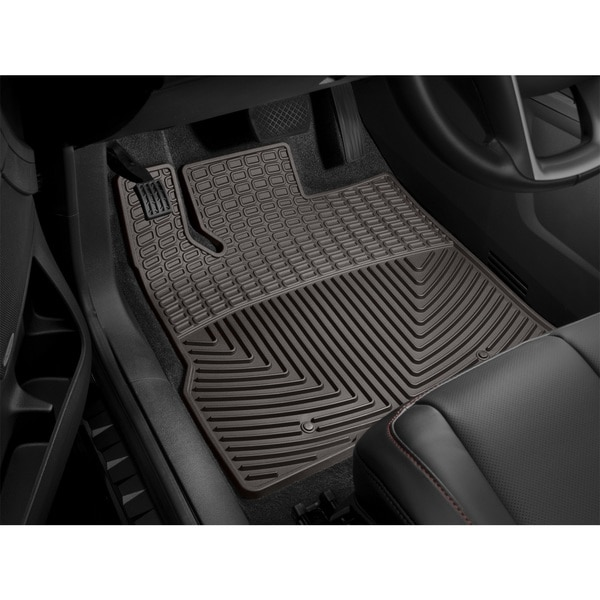 Weathertech Front Rubber Mats/Cocoa, W407CO W407CO