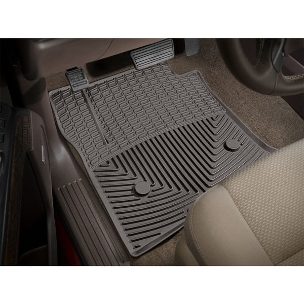 Weathertech Front Rubber Mats/Cocoa, W238CO W238CO