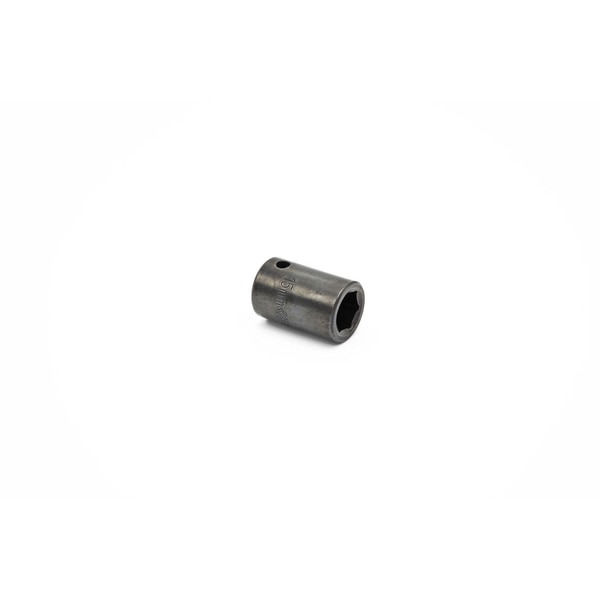 """Crescent 1/2"""" Drive 6 Point Standard Impact Metric Socket 15mm,  Material: Alloy steel CIMS15N"""