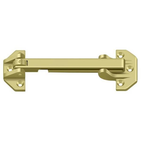 "Deltana Door Guard Bright Brass 6-3/4"" DGSB675U3"