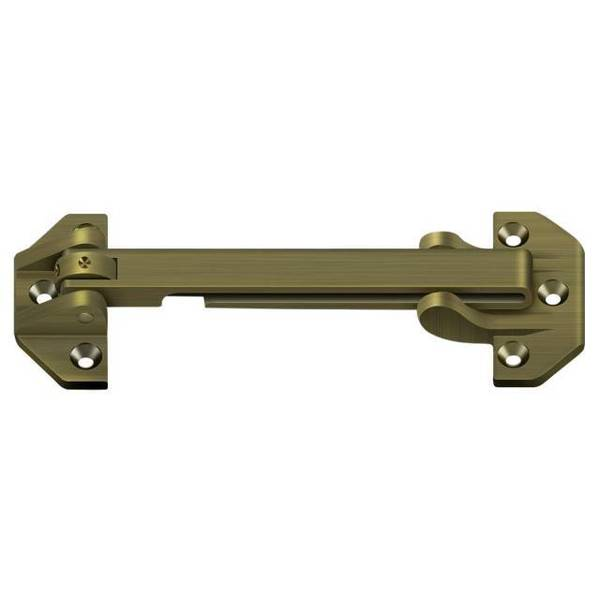 "Deltana Door Guard Antique Brass 6-3/4"" DGSB675U5"