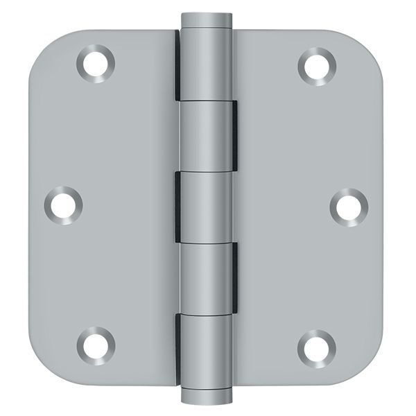 Deltana Satin Chrome Door and Butt Hinge DSB35R526D-R