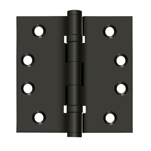 Deltana Oil Rubbed Bronze Door and Butt Hinge DSB4B10B
