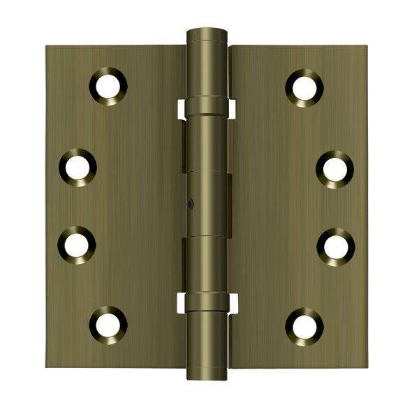 Deltana Antique Brass Door and Butt Hinge DSB4NB5