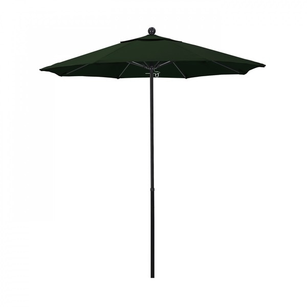 "March Patio Umbrella,  Octagon,  92.38"" H,  Pacifica Fabric,  Hunter Green EFFO758-SA46"