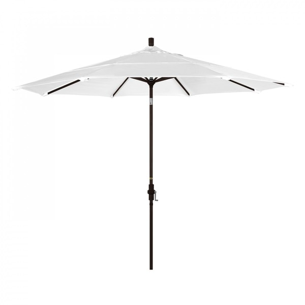 "March Patio Umbrella,  Octagon,  110.5"" H,  Olefin Fabric,  White GSCU118117-F04-DWV"