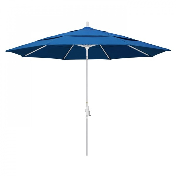 "March Patio Umbrella,  Octagon,  110.5"" H,  Pacifica Fabric,  Pacific Blue GSCU118170-SA01-DWV"