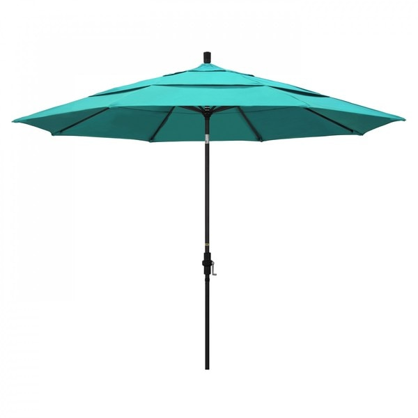 "March Patio Umbrella,  Octagon,  110.5"" H,  Sunbrella Fabric,  Aruba GSCU118302-5416-DWV"