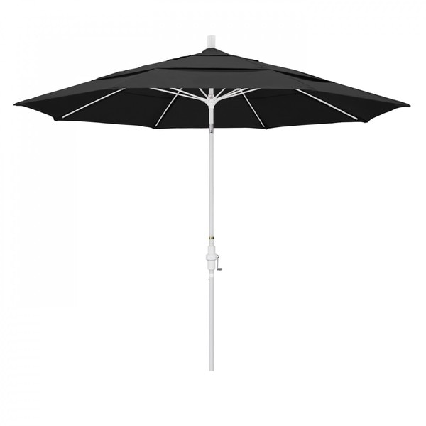 "March Patio Umbrella,  Octagon,  109.5"" H,  Pacifica Fabric,  Black GSCUF118170-SA08-DWV"