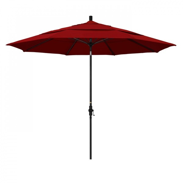 "March Patio Umbrella,  Octagon,  109.5"" H,  Sunbrella Fabric,  Jockey Red GSCUF118705-5403-DWV"