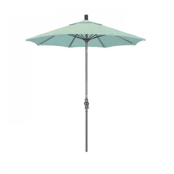 "March Patio Umbrella,  Octagon,  102.5"" H,  Sunbrella Fabric,  Spectrum Mist GSCUF758010-48020"