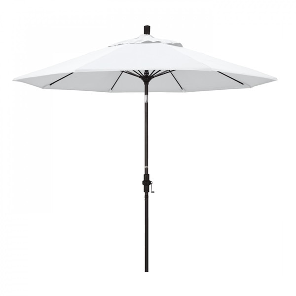 "March Patio Umbrella,  Octagon,  101"" H,  Olefin Fabric,  White GSCUF908117-F04"