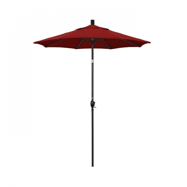 "March Patio Umbrella,  Octagon,  102"" H,  Sunbrella Fabric,  Jockey Red GSPT608117-5403"