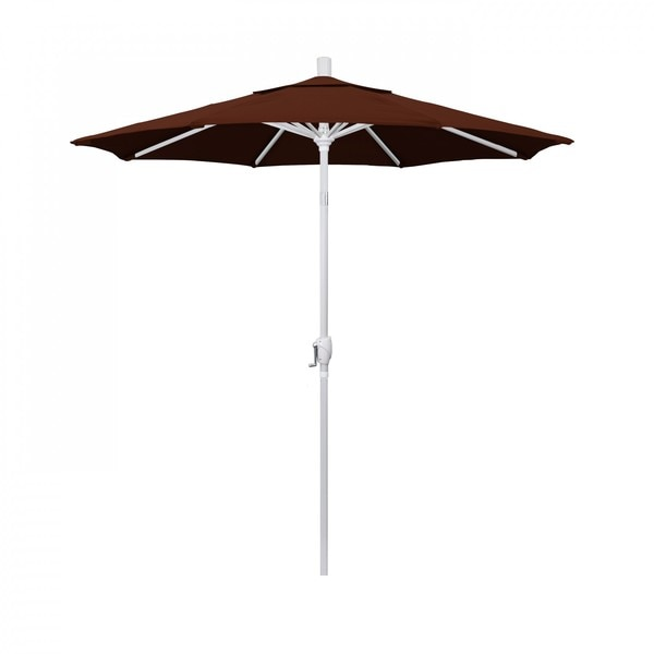 "March Patio Umbrella,  Octagon,  95.5"" H,  Pacifica Fabric,  Brick GSPT758170-SA40"