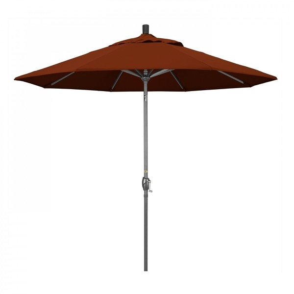 "March Patio Umbrella,  Octagon,  101"" H,  Pacifica Fabric,  Brick GSPT908010-SA40"