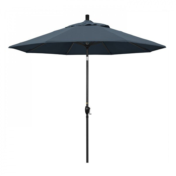 "March Patio Umbrella,  Octagon,  101"" H,  Pacifica Fabric,  Sapphire GSPT908302-SA52"