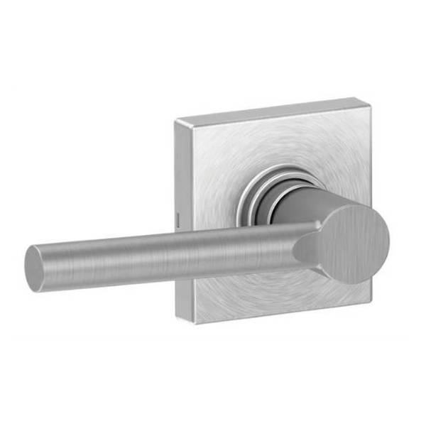 Dexter Broadway Lever With Collins Rose Passage Satin Chrome J10BRW626COL
