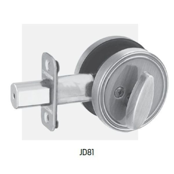 Dexter One Sided With Plate Bright Brass JD81605.048003