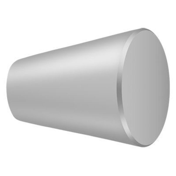 """Deltana Knob Cone Cabinet 1-1/8""""  Satin Stainless Steel KC24U32D"""