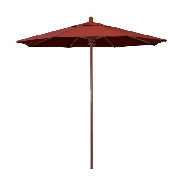 "March Patio Umbrella,  Octagon,  93.13"" H,  Sunbrella Fabric,  Terracotta MARE758-5440"
