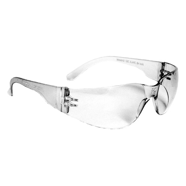 Radians Mirage™ Safety Glasses Clear Frame And Clear Scratch-Resistant Lens MR0110ID