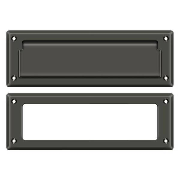 """Deltana Mail Slot 8-7/8"""" With Interior Frame Oil Rubbed Bronze MS626U10B"""