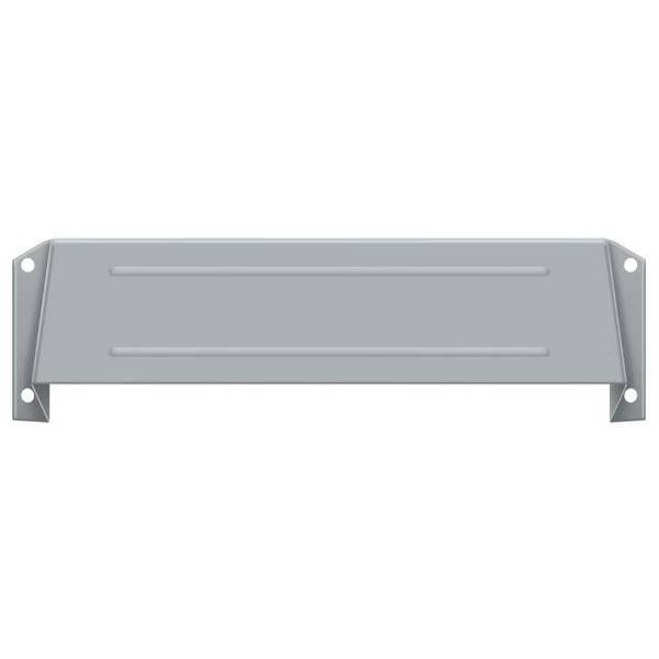 Deltana Letter Box Hood Satin Chrome MSH158U26D