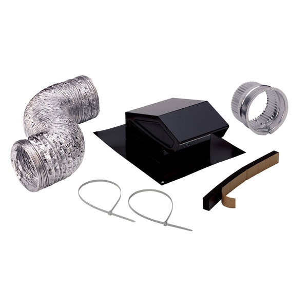Broan Rvk1a 26 00 Roof Vent Kit Flexible Duct 8 Ft L