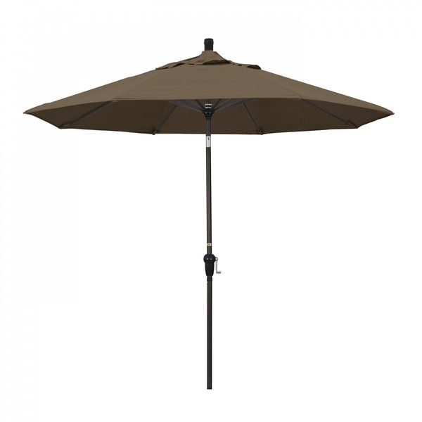"March Patio Umbrella,  Octagon,  102.38"" H,  Sunbrella Fabric,  Cocoa SDAU908117-5425"