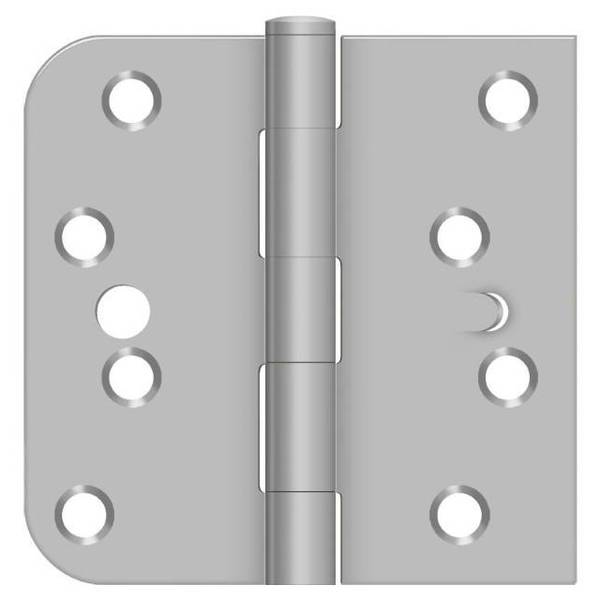 Deltana Satin Stainless Steel Door and Butt Hinge SS44058TA32D-LH