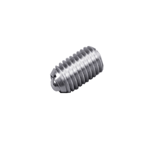 """S & W Manufacturing Ball Plunger, 316SS, Stnd E Force, 8-32"""" SSW10-22B-316"""