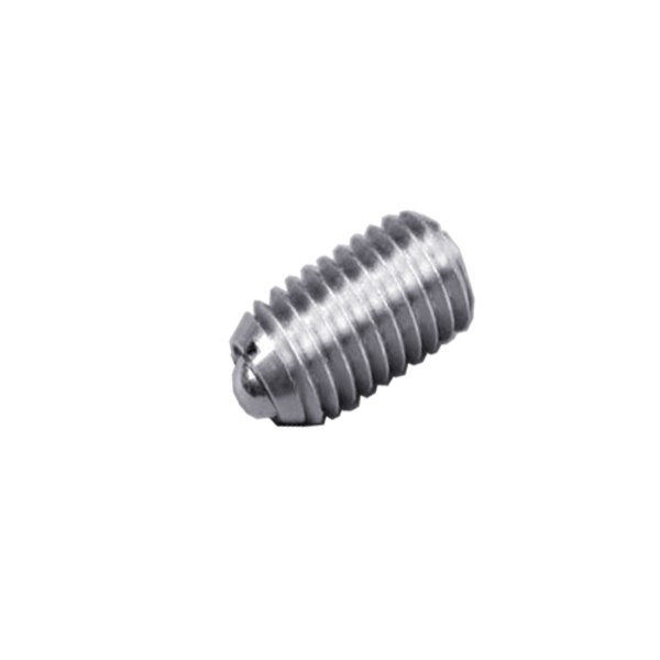 """S & W Manufacturing Ball Plunger, 316SS, Stnd E Force1/2-13"""" SSW10-8B-316"""