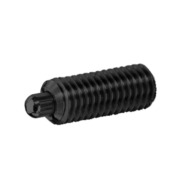 """S & W Manufacturing Stnd Sprg Plunger, E-Force, 1/2-13"""", 1-1/4"""" SW10-8"""