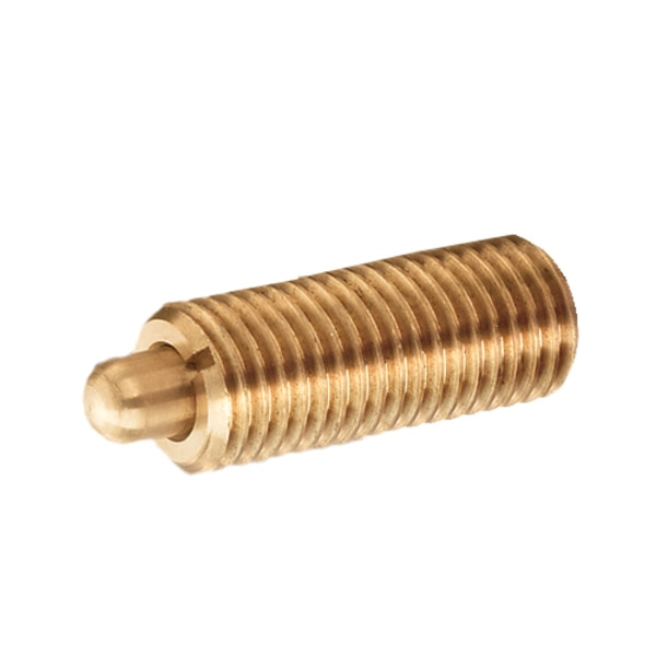 """S & W Manufacturing Brass Plunger, L-E Force, 1/2-13"""" SWB10-8A"""