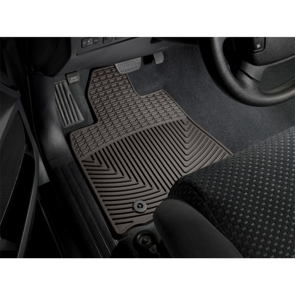 Weathertech Front Rubber Mats/Cocoa, W265CO W265CO